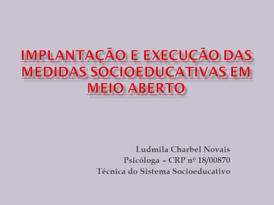 IMPLANTAÇÃO e execução das medidas socioeducativas EM MEIO ABERTO