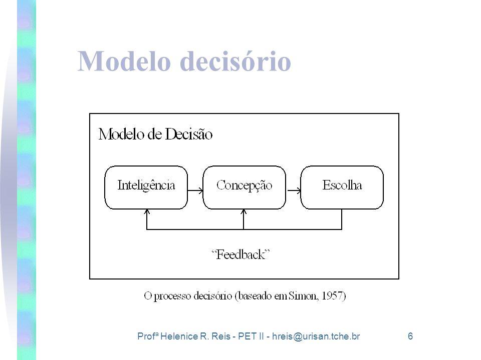 Modelo decisório