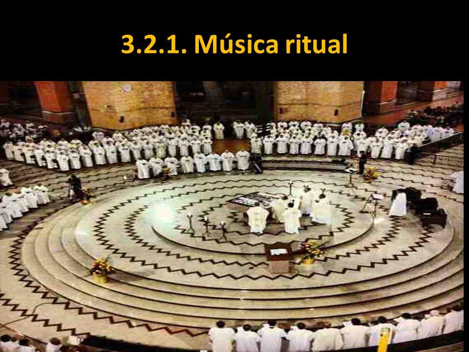 3.2.1. Música ritual
