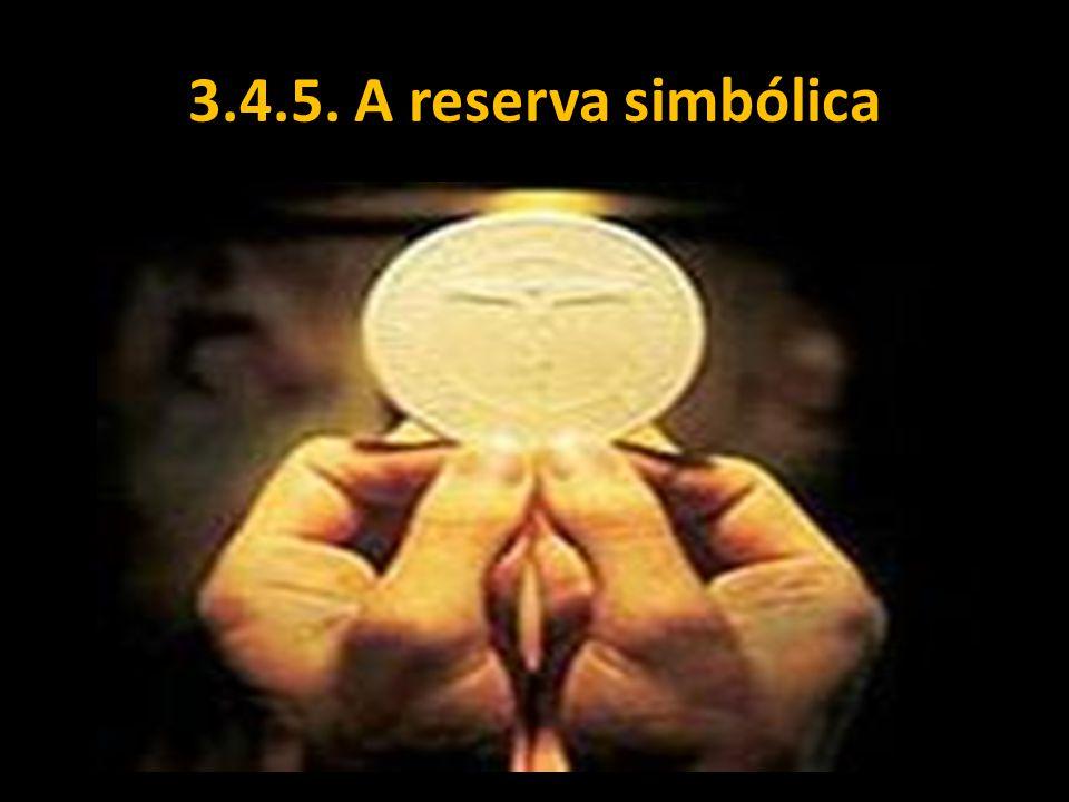 3.4.5. A reserva simbólica