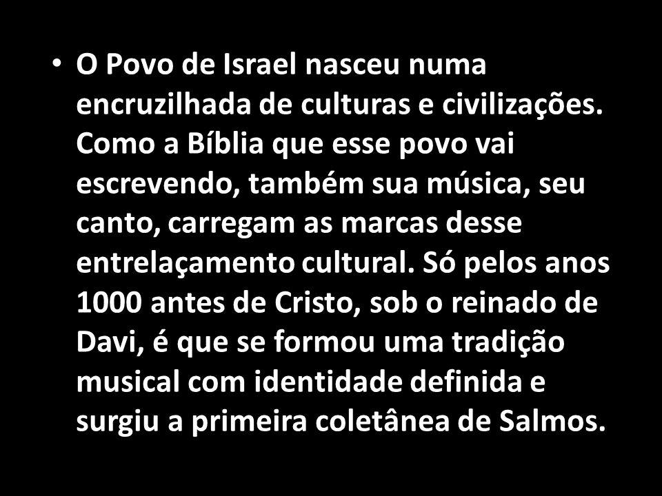 O Povo de Israel nasceu numa encruzilhada de culturas e civilizações
