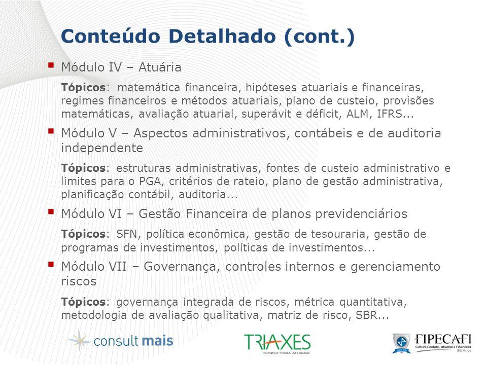 Conteúdo Detalhado (cont.)