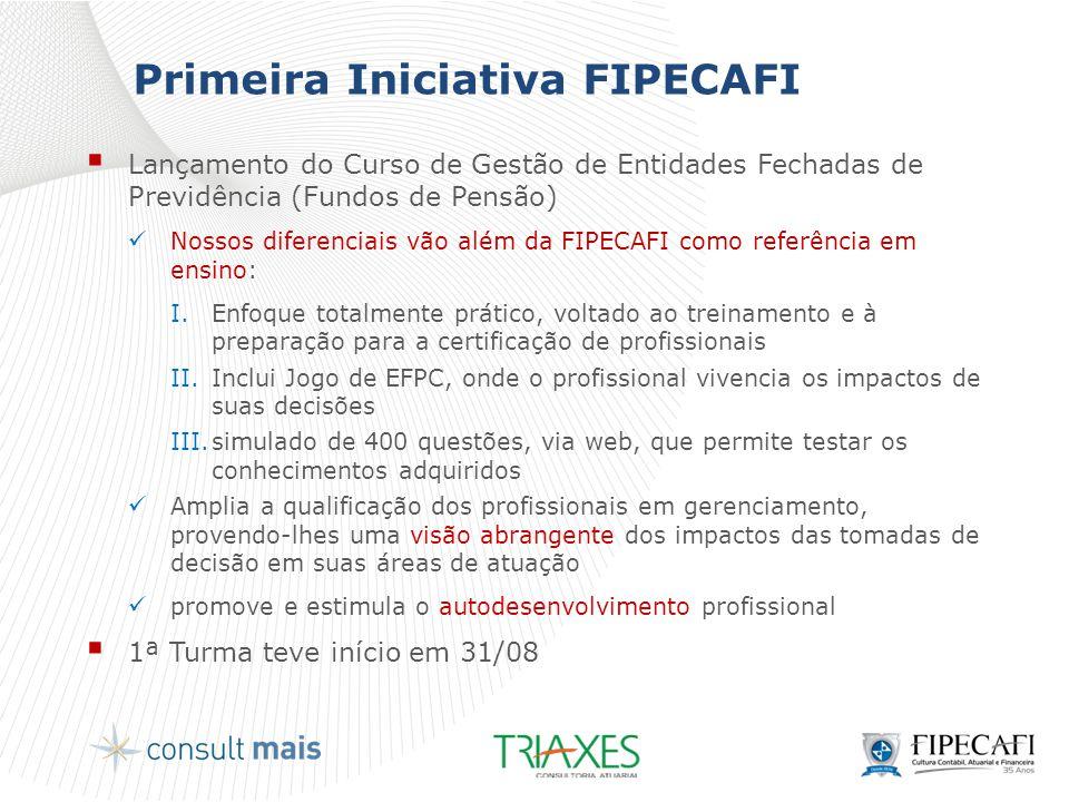 Primeira Iniciativa FIPECAFI