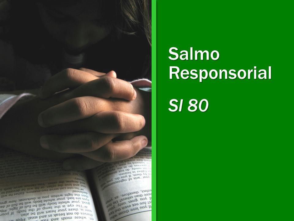 Salmo Responsorial Sl 80