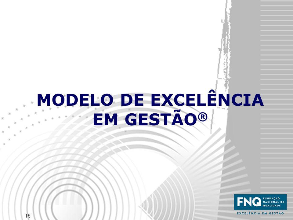 MODELO DE EXCELÊNCIA EM GESTÃO®