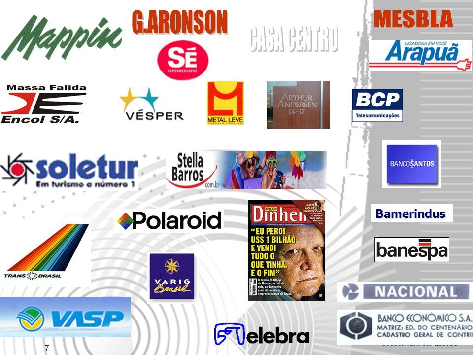 G.ARONSON CASA CENTRO MESBLA Bamerindus
