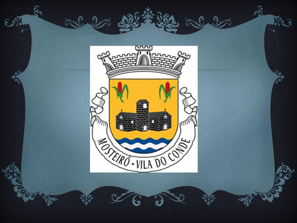 Começamos por visualizar o emblema da freguesia de Mosteiró.