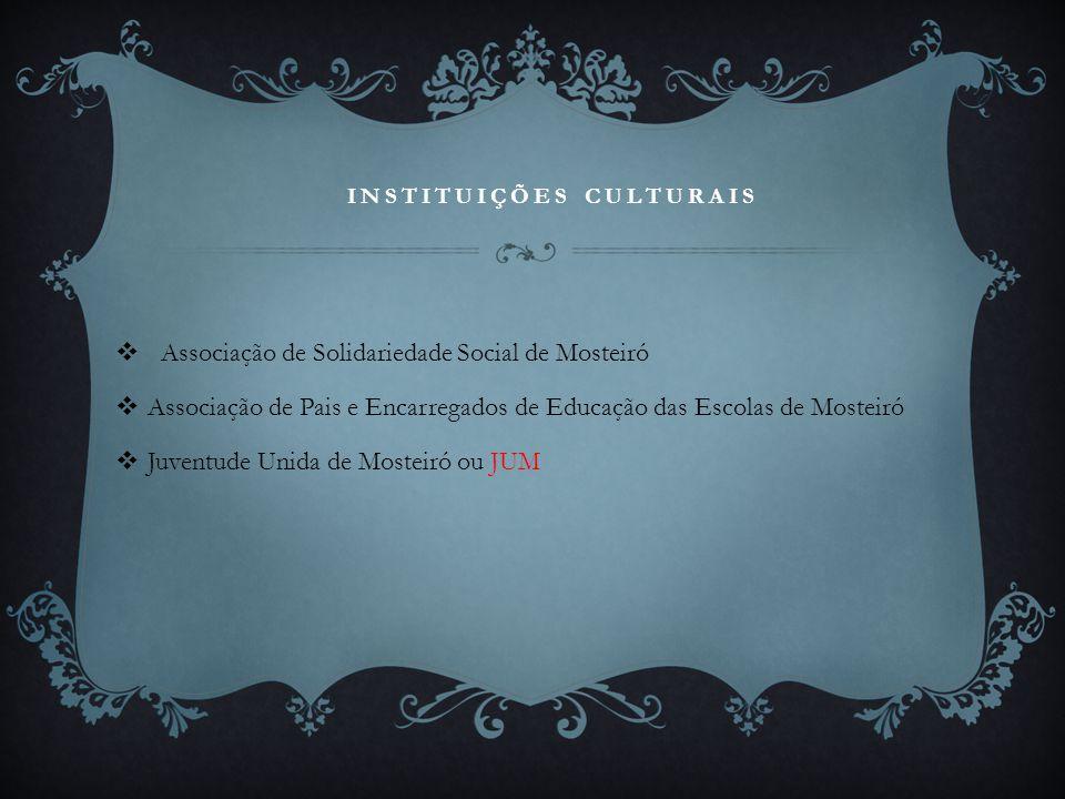 Instituições culturais