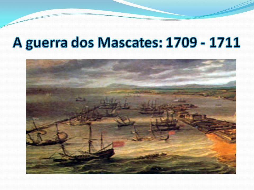 A guerra dos Mascates: 1709 - 1711