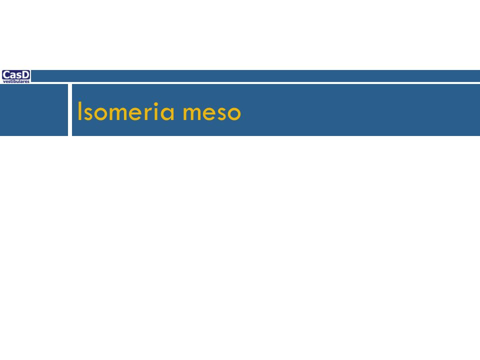 Isomeria meso 70