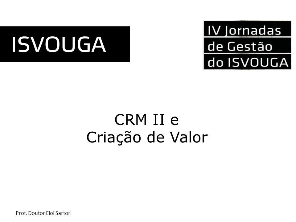 CRM II e Criação de Valor
