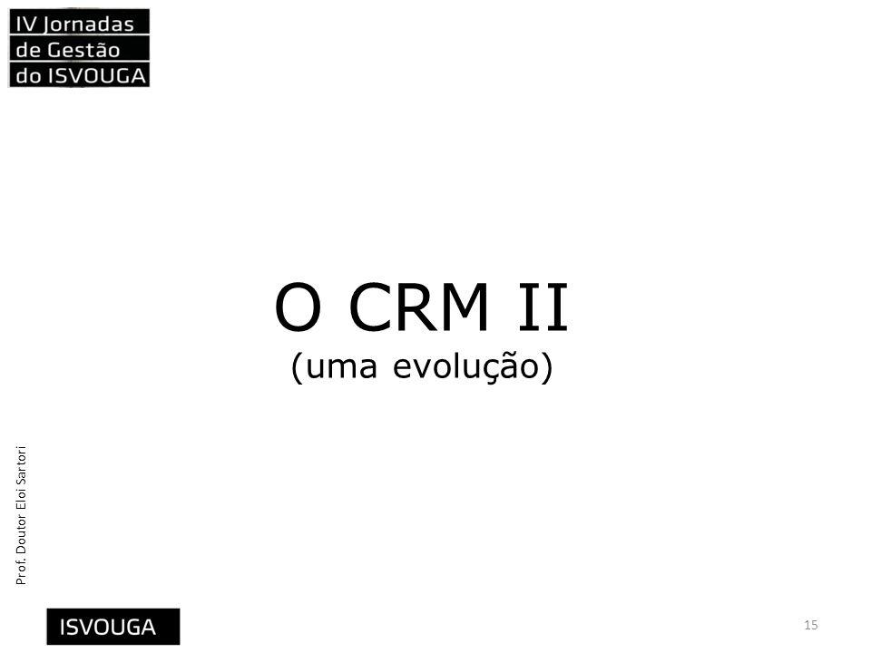 O CRM II (uma evolução)