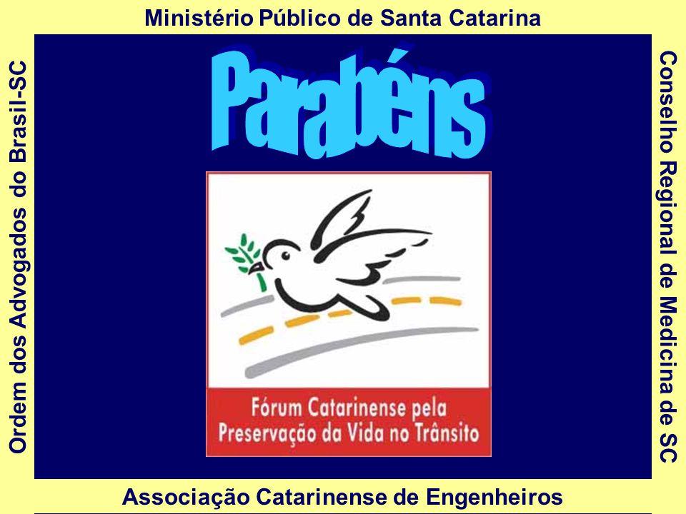 Parabéns Ministério Público de Santa Catarina