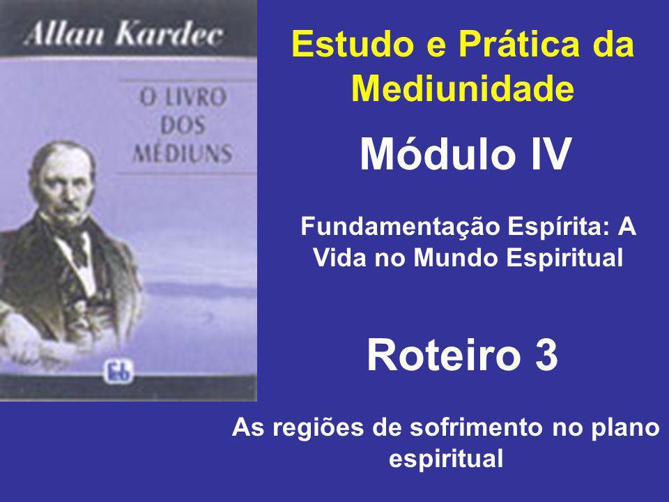 Módulo IV Roteiro 3 Estudo e Prática da Mediunidade