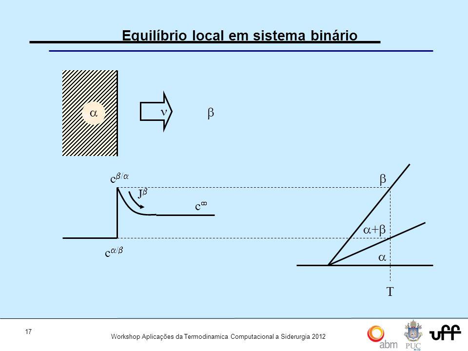 Equilíbrio local em sistema binário
