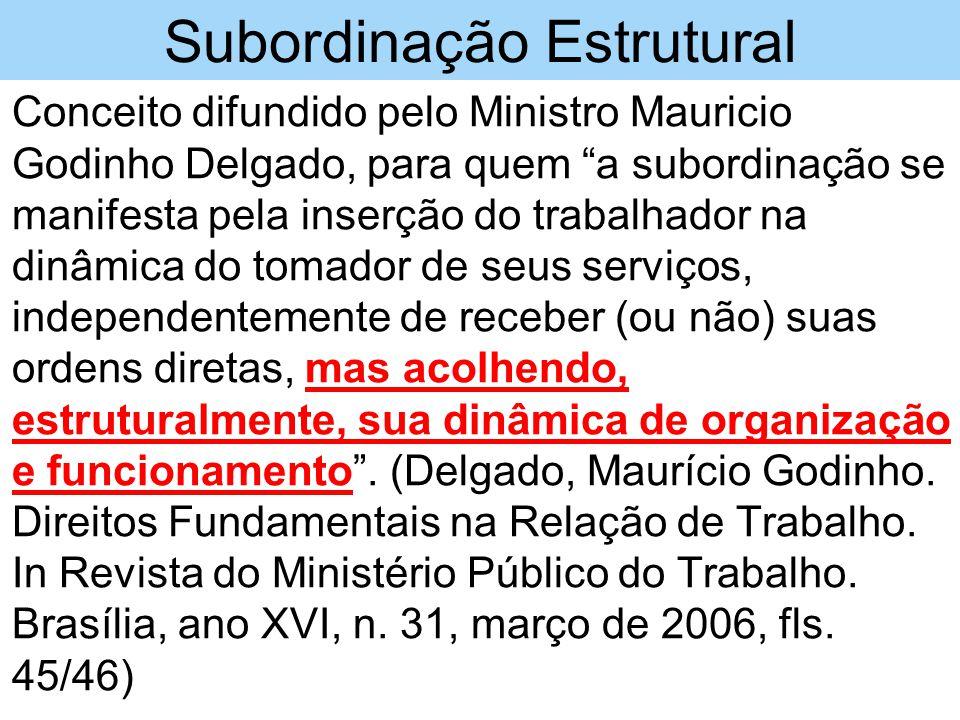 Subordinação Estrutural