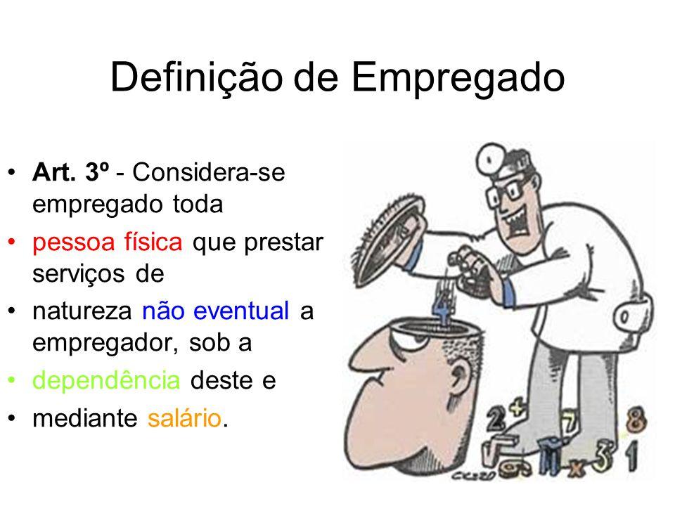 Definição de Empregado