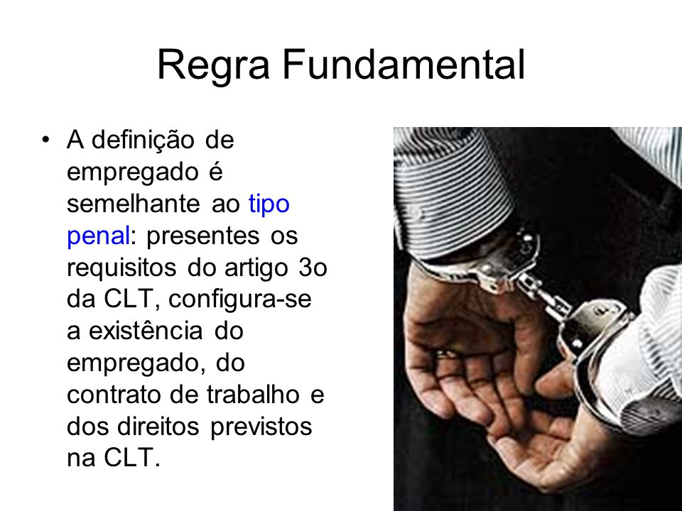 Regra Fundamental