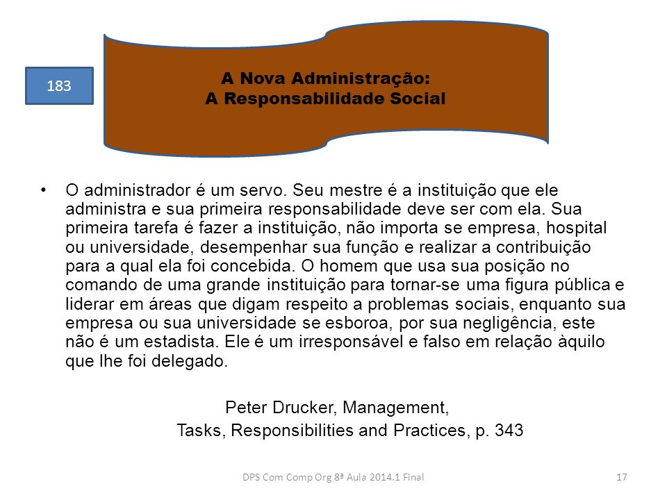 Peter Drucker, Management,