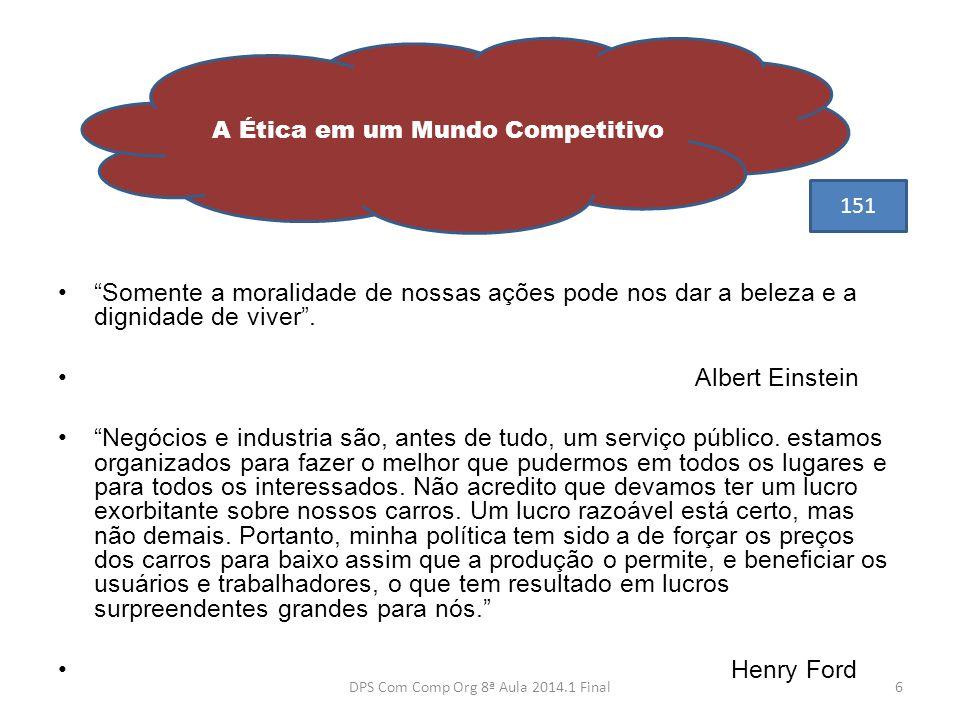 A Ética em um Mundo Competitivo