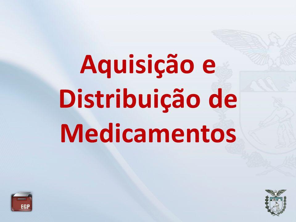 Aquisição e Distribuição de Medicamentos