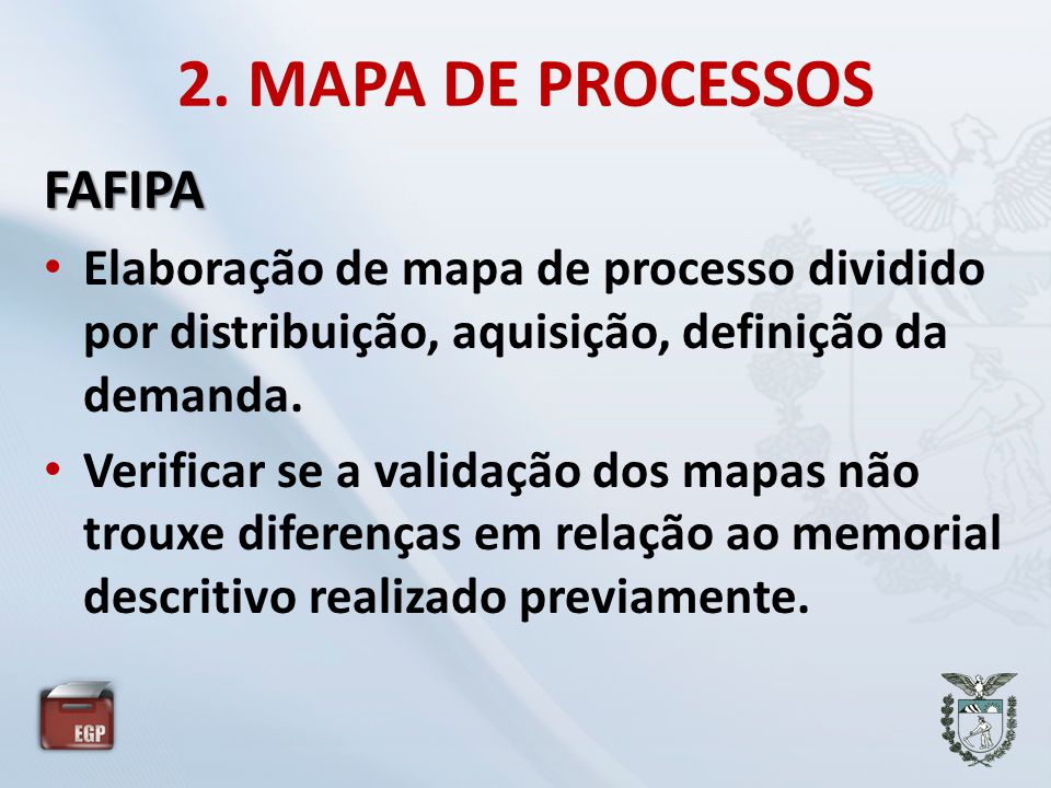 2. MAPA DE PROCESSOS FAFIPA
