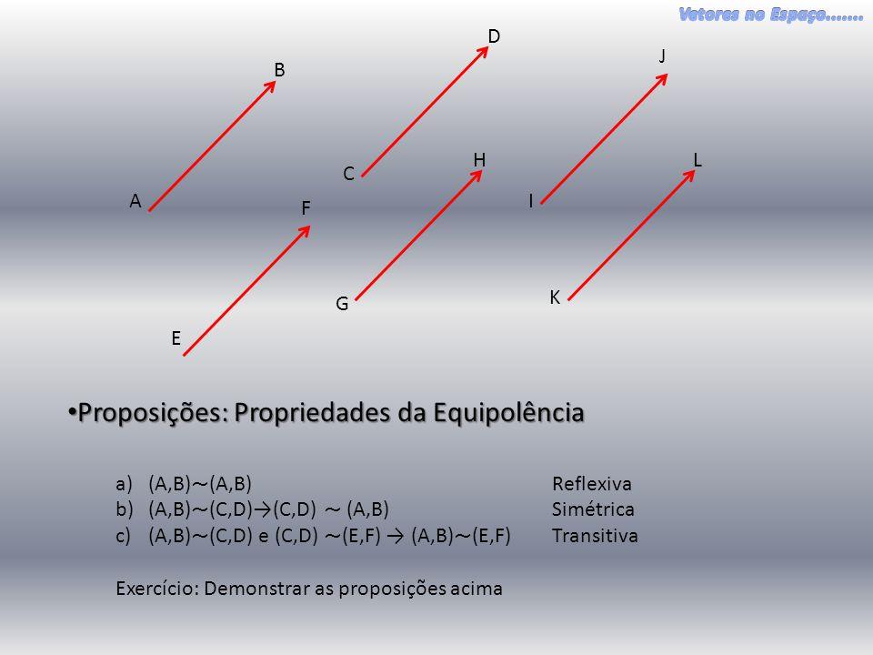 Proposições: Propriedades da Equipolência