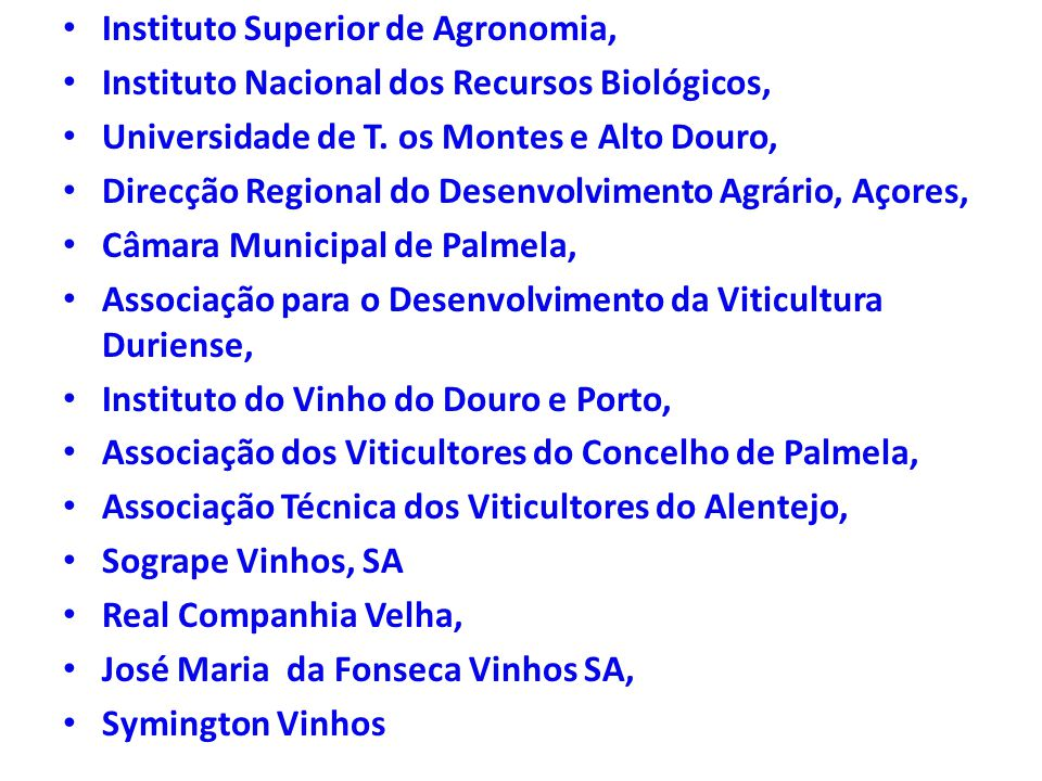 Instituto Superior de Agronomia,