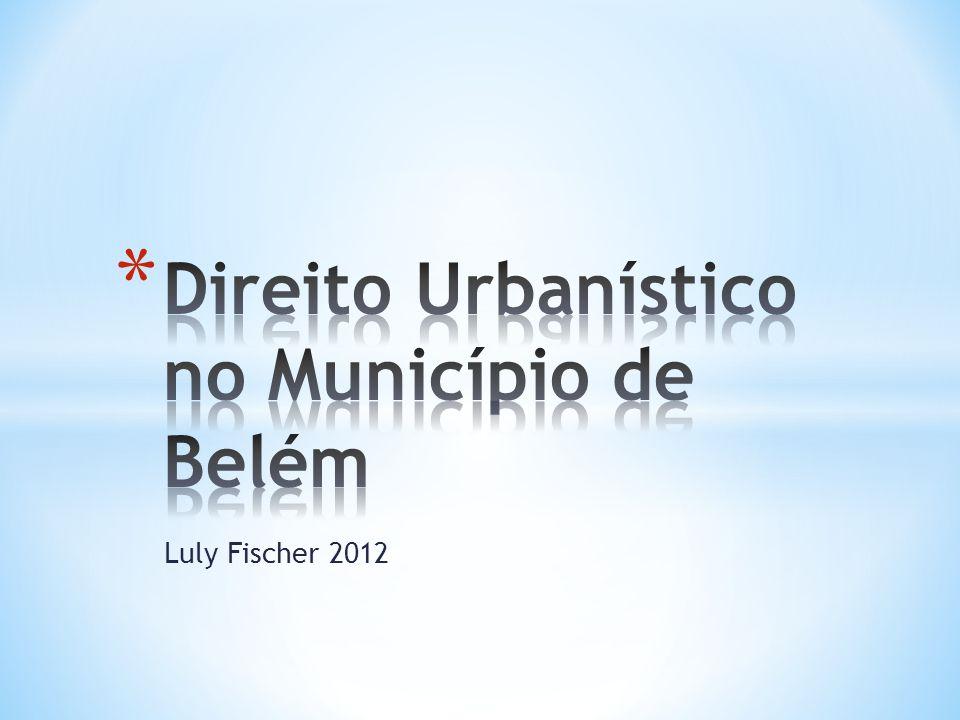 Direito Urbanístico no Município de Belém