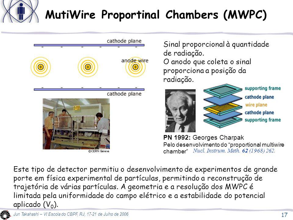 MutiWire Proportinal Chambers (MWPC)