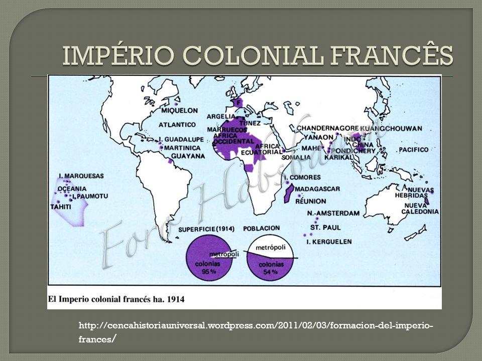 IMPÉRIO COLONIAL FRANCÊS