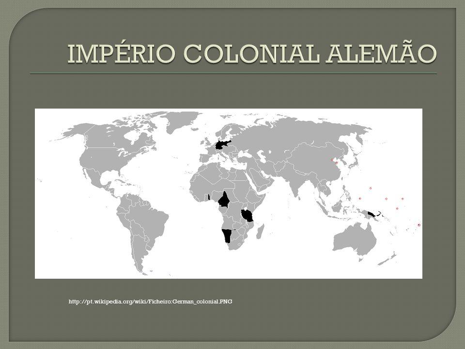 IMPÉRIO COLONIAL ALEMÃO