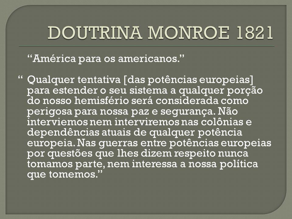 DOUTRINA MONROE 1821