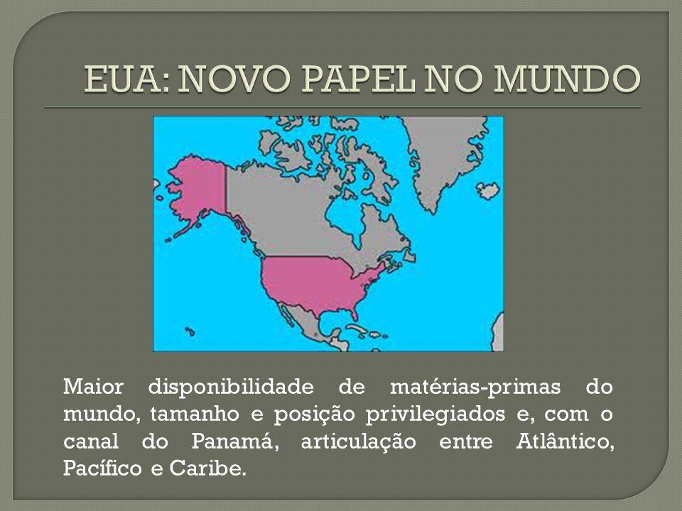 EUA: NOVO PAPEL NO MUNDO