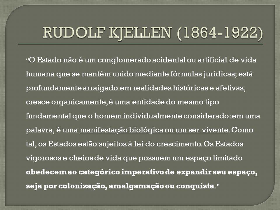 RUDOLF KJELLEN (1864-1922)