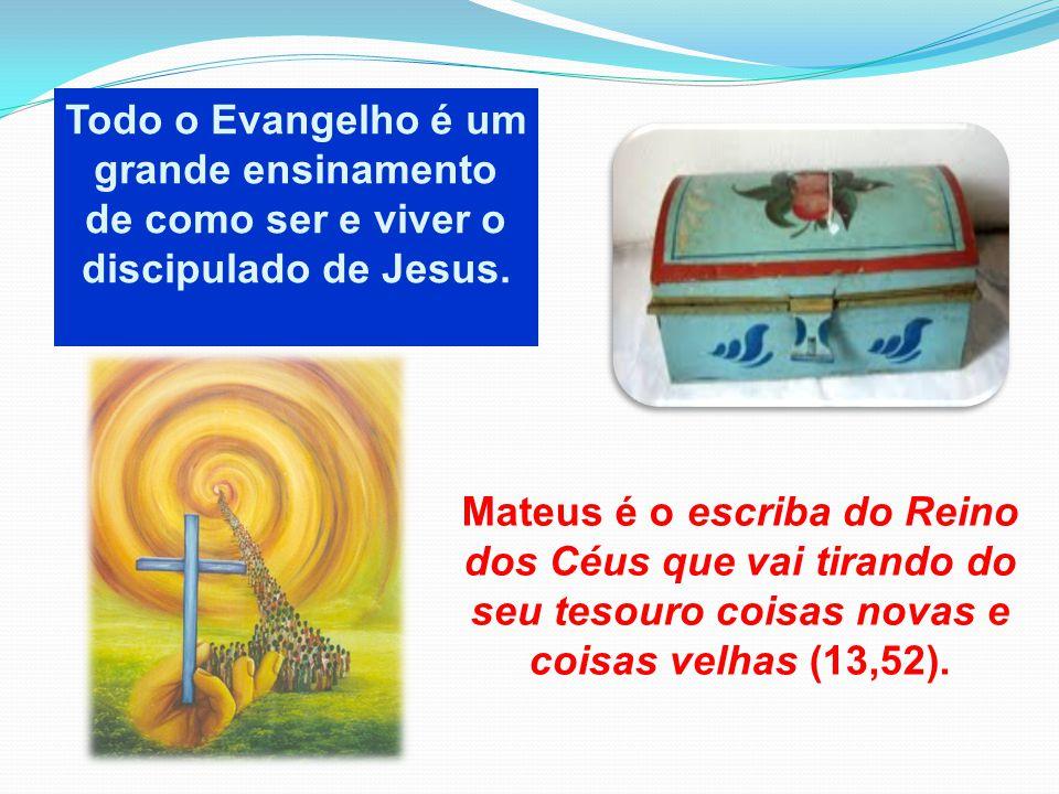 Todo o Evangelho é um grande ensinamento de como ser e viver o discipulado de Jesus.