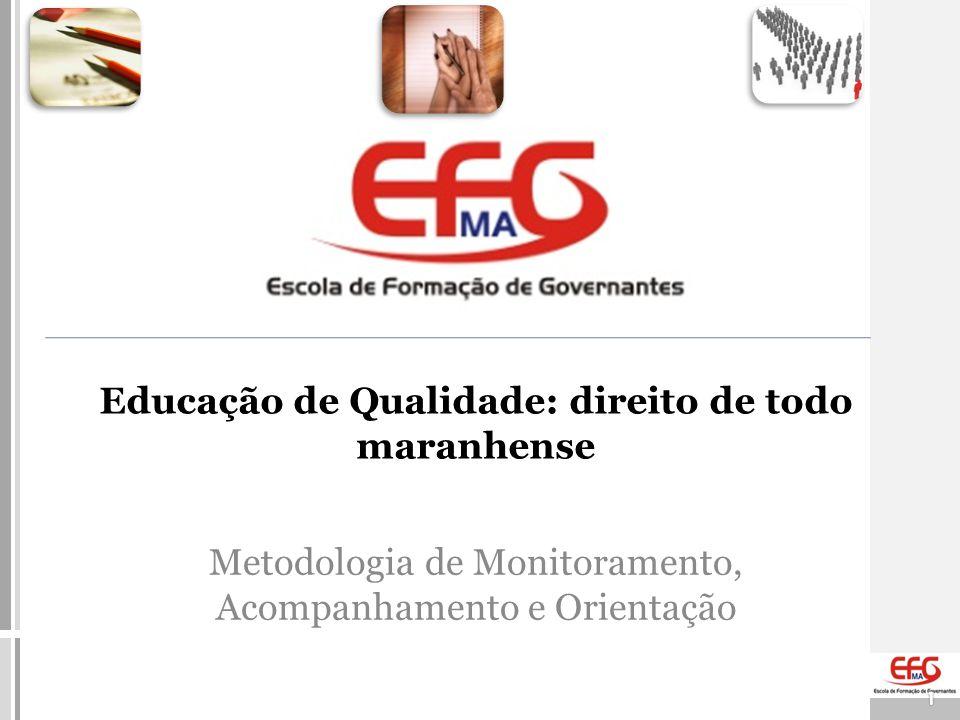 Metodologia de Monitoramento, Acompanhamento e Orientação