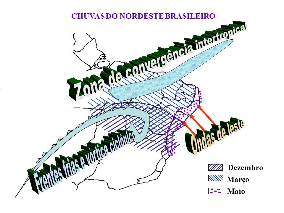 CHUVAS DO NORDESTE BRASILEIRO