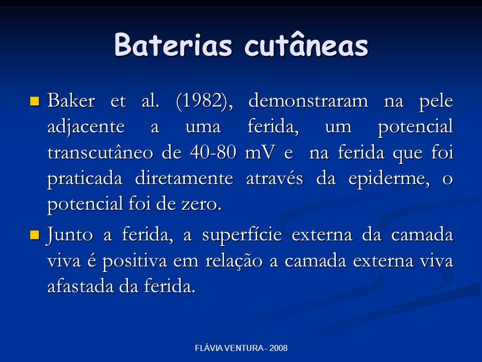 Baterias cutâneas