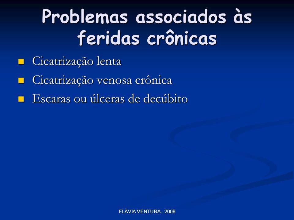 Problemas associados às feridas crônicas