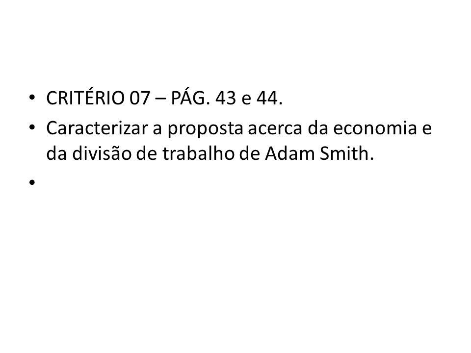 CRITÉRIO 07 – PÁG. 43 e 44.