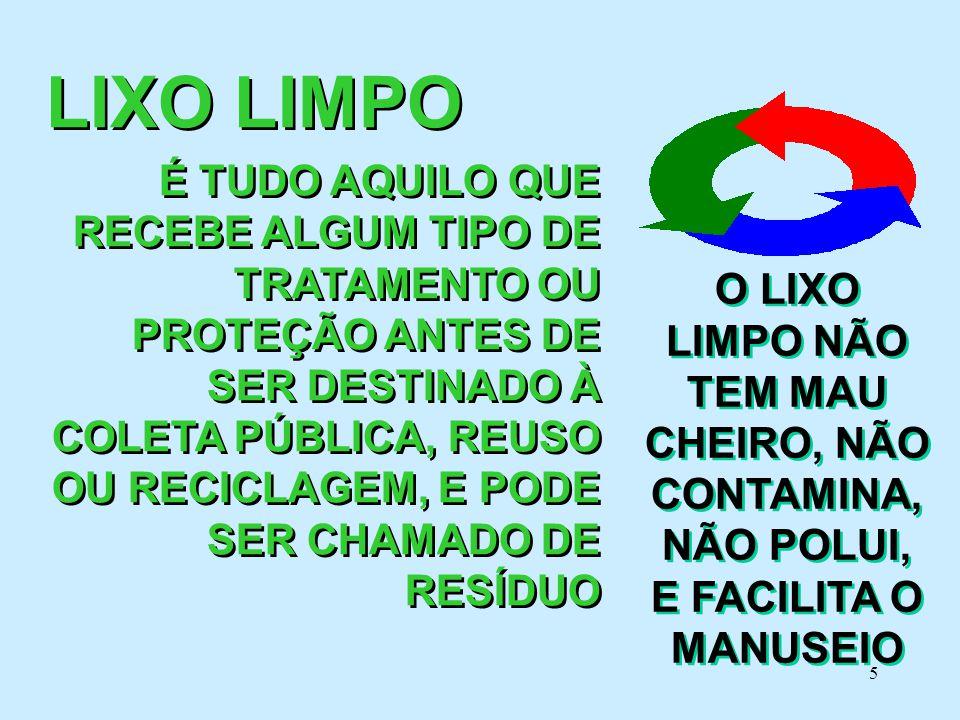 LIXO LIMPO