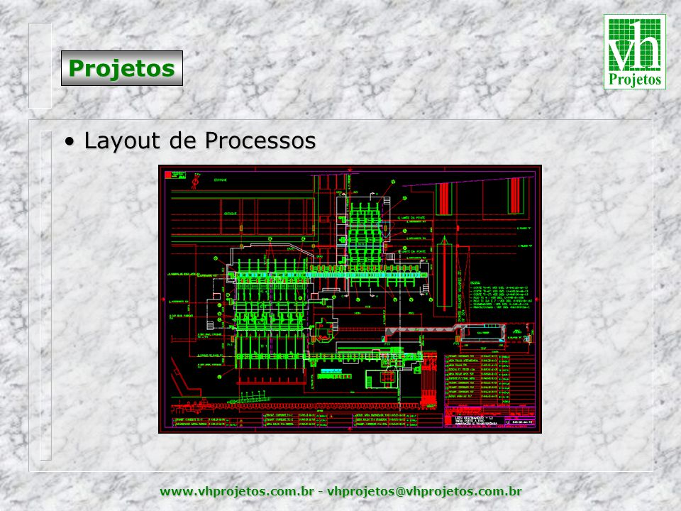 Projetos Layout de Processos