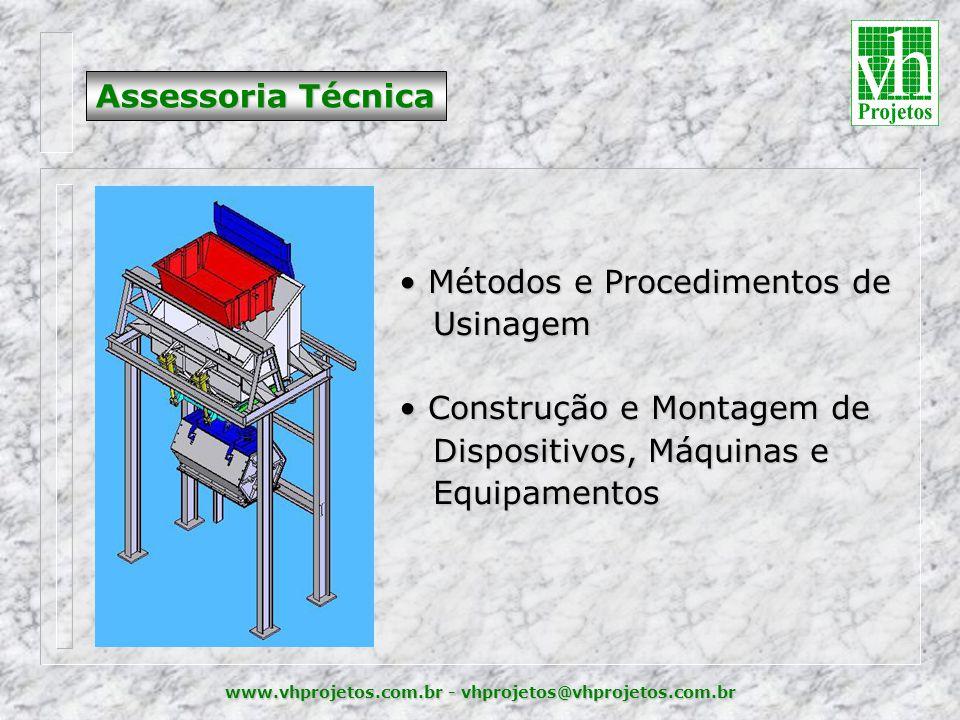 Métodos e Procedimentos de Usinagem Construção e Montagem de