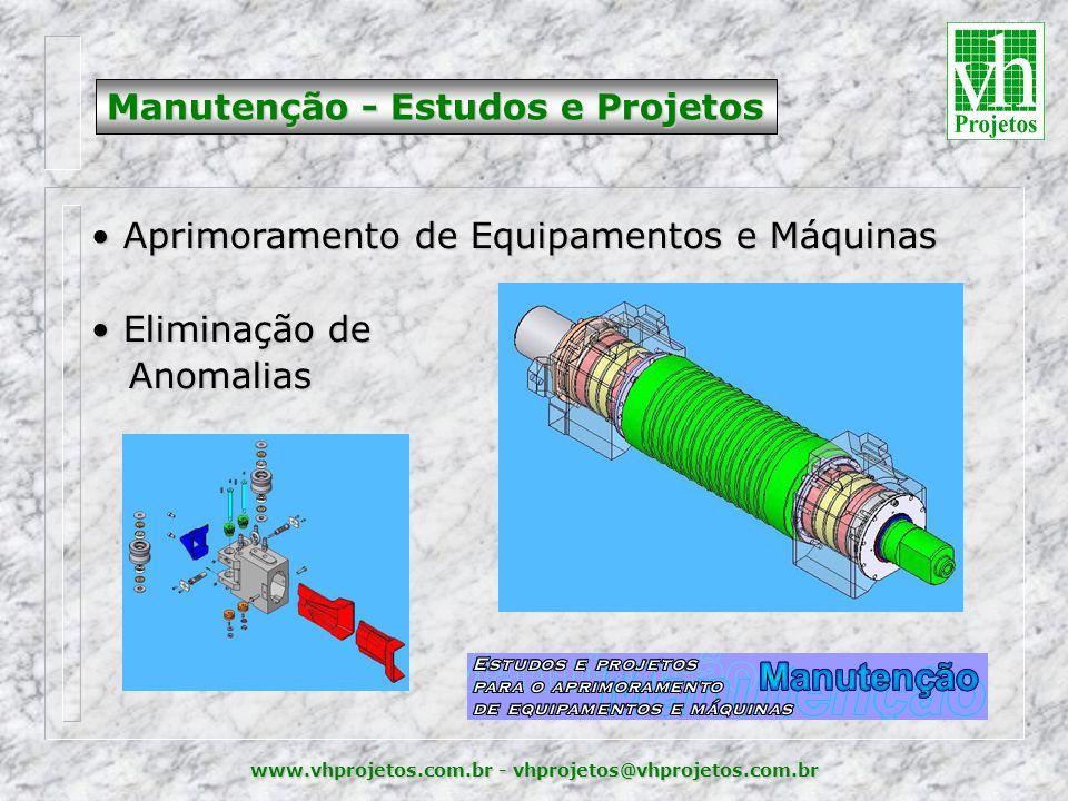Manutenção - Estudos e Projetos