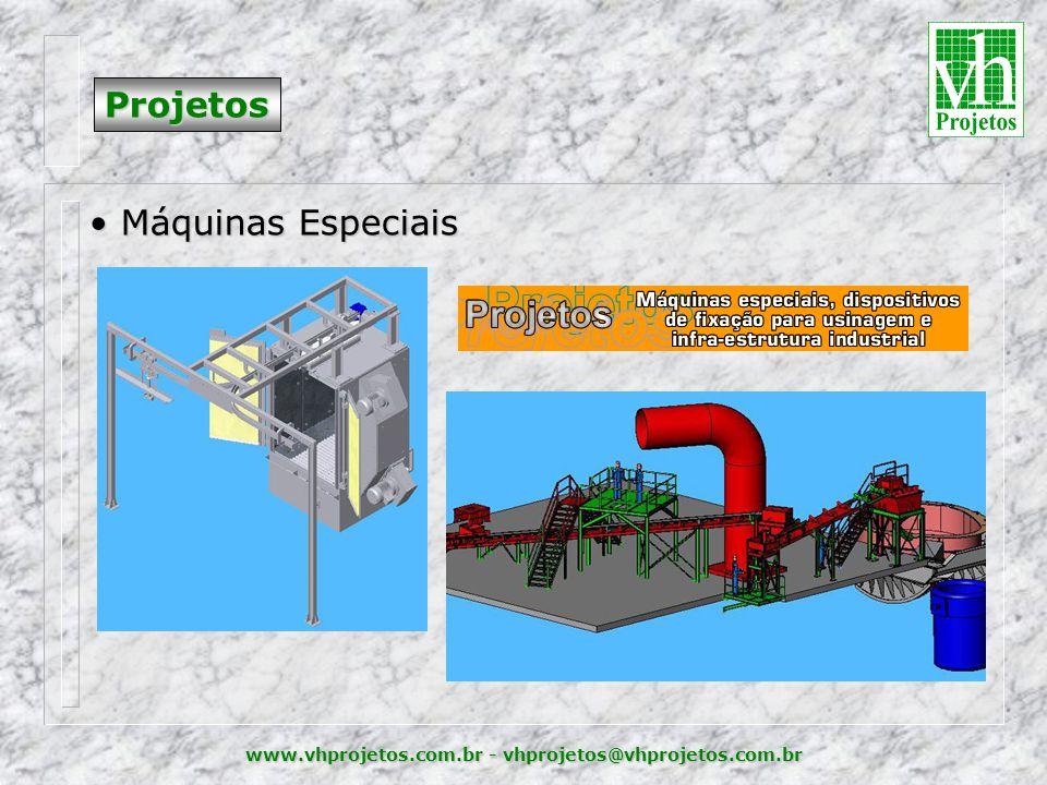 Projetos Máquinas Especiais
