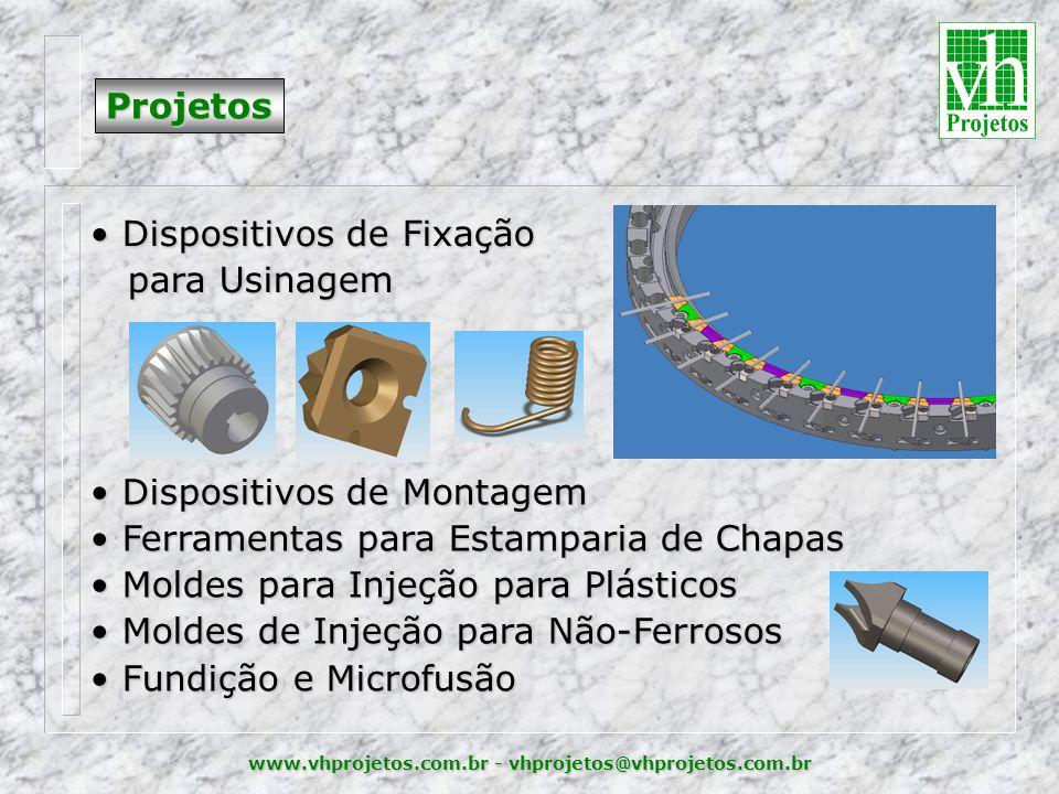 Dispositivos de Fixação para Usinagem