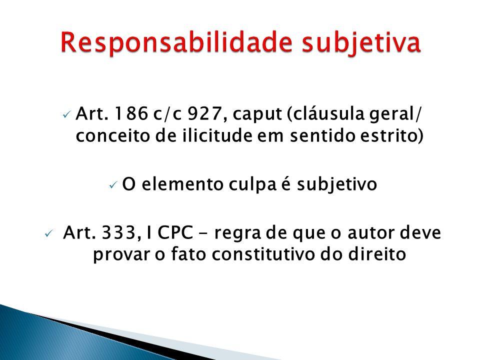 Responsabilidade subjetiva