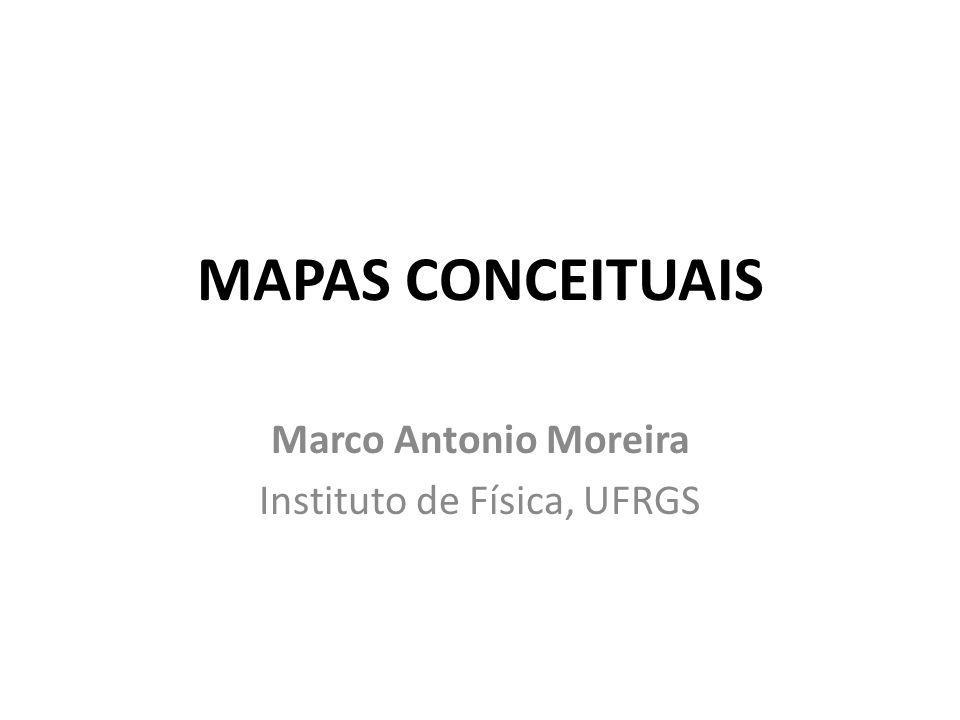 Marco Antonio Moreira Instituto de Física, UFRGS