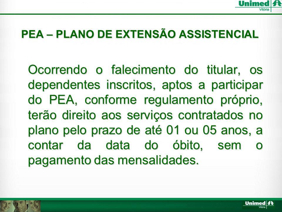 PEA – PLANO DE EXTENSÃO ASSISTENCIAL
